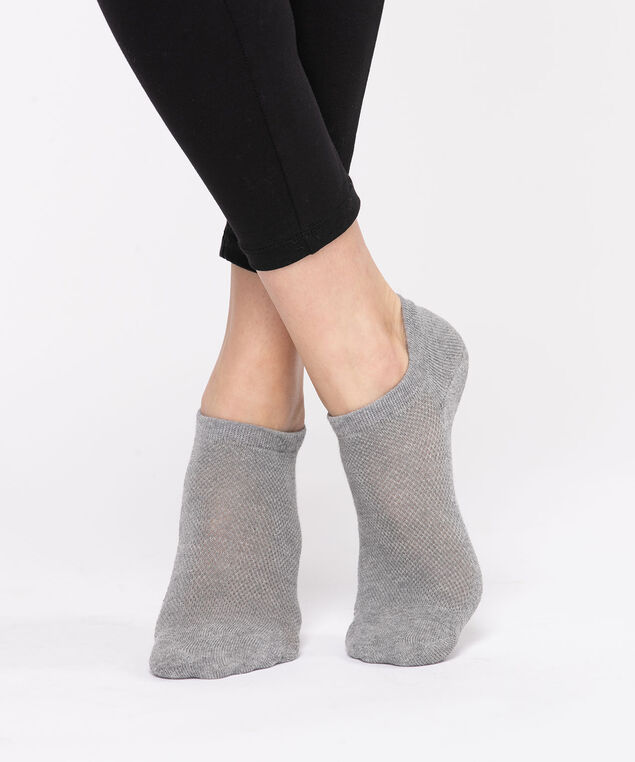 Basic Athletic Ankle Sock, Grey