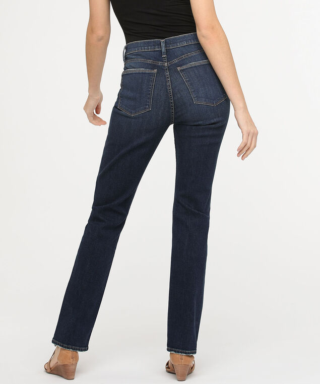 Silver Jeans Co. Calley Super High Rise Straight Leg, Dark Wash, hi-res