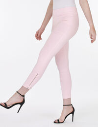Microtwill Zipper Ankle Pant