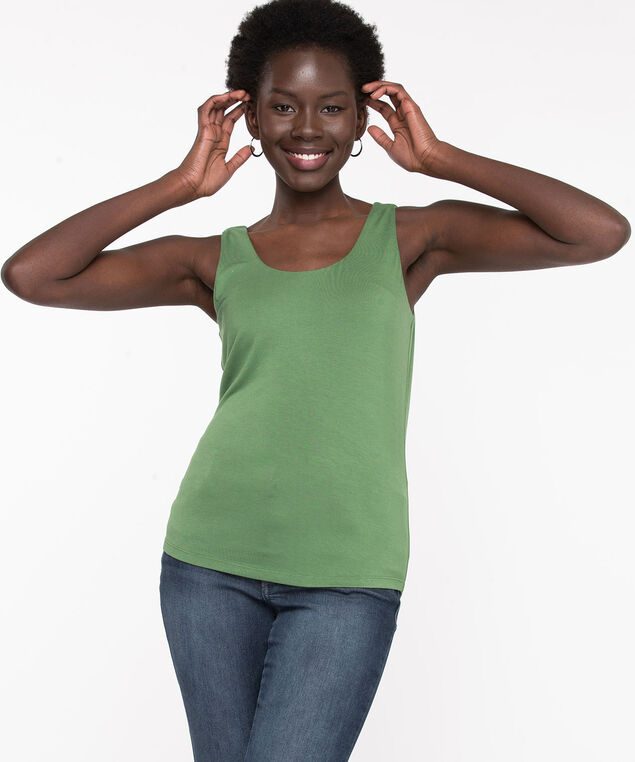 Double Layer Smoothing Cami, Willow Bough