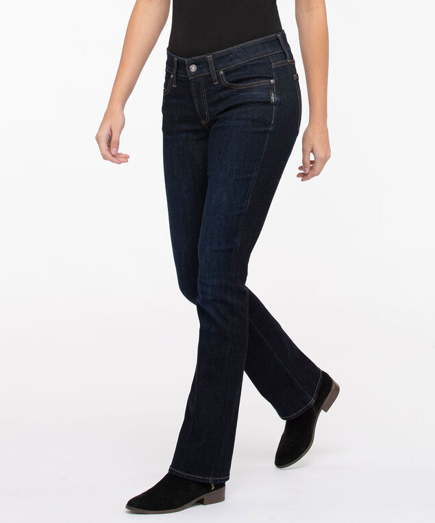 Silver Jeans Co. Elyse Slim Boot Cut, Indigo, hi-res