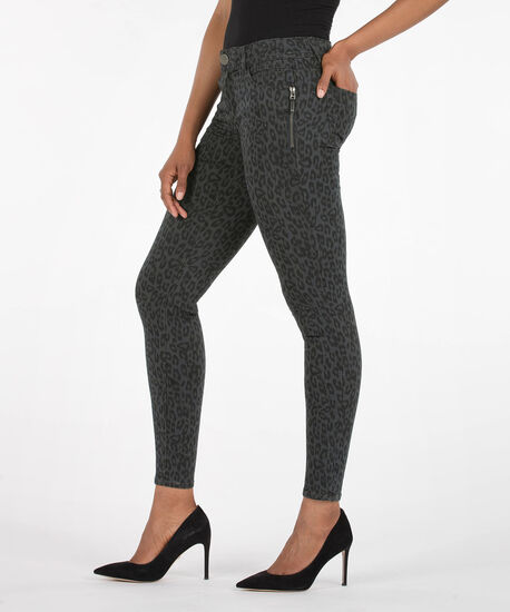 """Democracy """"Ab""""Solution Booty Lift Jegging, Grey/Charcoal, hi-res"""