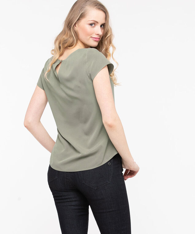 The Everyday Blouse, Thyme, hi-res
