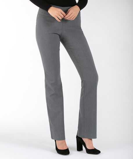 Microtwill Bootcut Leg - X-Long, Heather Grey, hi-res