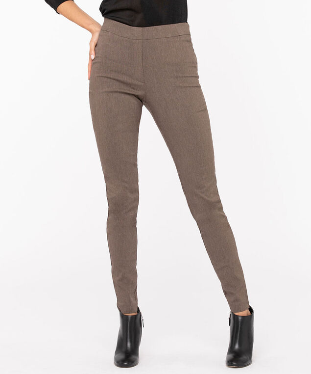 Microtwill Super Slim Leg, Coffee, hi-res