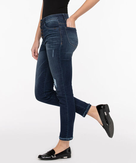 "Democracy ""Ab""solution High Rise Ankle Jean, Mid Wash, hi-res"
