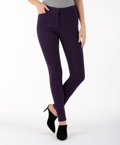 Microtwill Super Slim Leg - Long, Deep Purple, hi-res