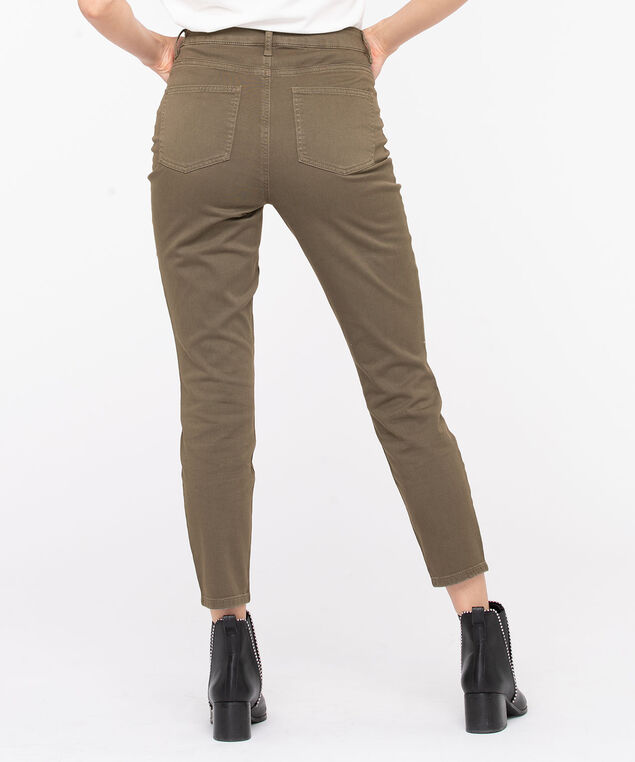 High Rise 5-Pocket Skinny Jean, Brown