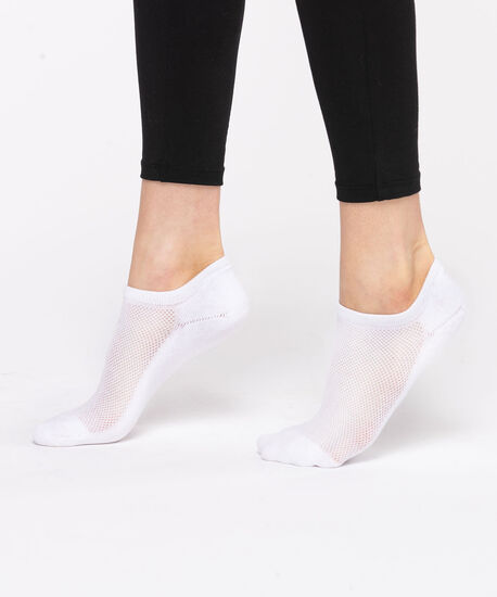 Basic Athletic Ankle Sock, White, hi-res