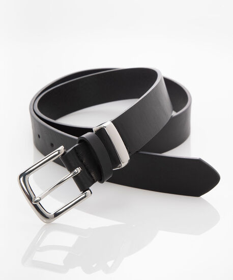 Black Classic Pant Belt, Black, hi-res