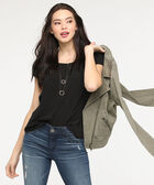 The Everyday Blouse, Black, hi-res