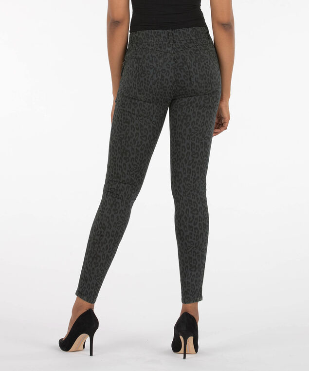 "Democracy ""Ab""Solution Booty Lift Jegging - Short, Grey/Charcoal, hi-res"