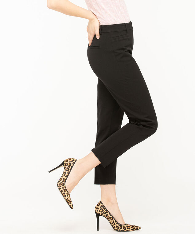 Perfect Stretch High Rise Ankle, Black, hi-res