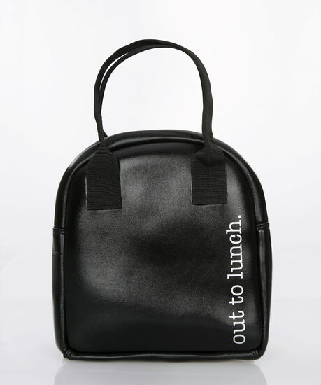 Out-To-Lunch Foodie Tote, Black, hi-res