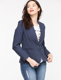 Classic Single Button Blazer