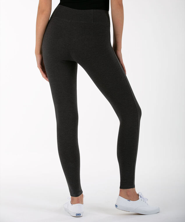 Knit Legging, Charcoal, hi-res
