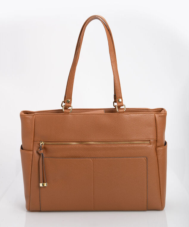 Laptop Tote Bag, Camel/Gold, hi-res