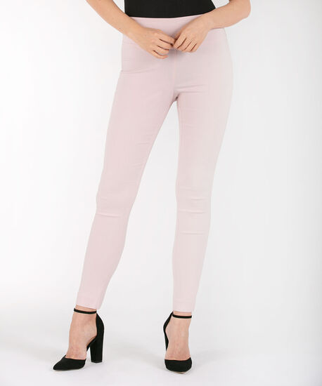 Microtwill High Rise Ankle Pant, Pastel Pink, hi-res