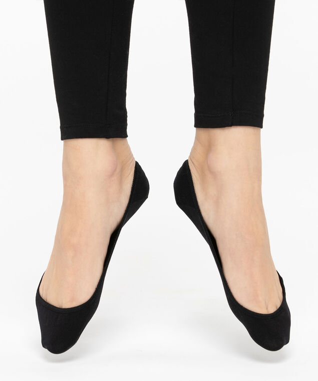 No-Show Liner Socks, Black