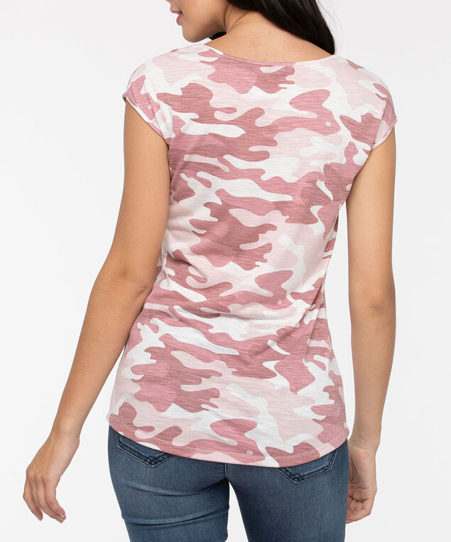 Pink Camo Extended Sleeve Top, Dusty Pink/Petal Pink/Pearl, hi-res