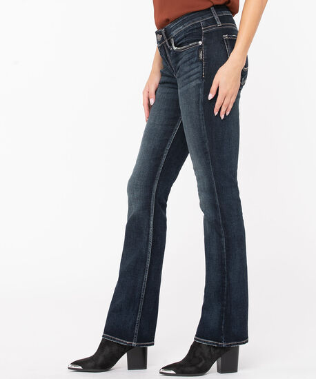 Silver Jeans Co. Suki  Slim Bootcut, Dark Wash, hi-res