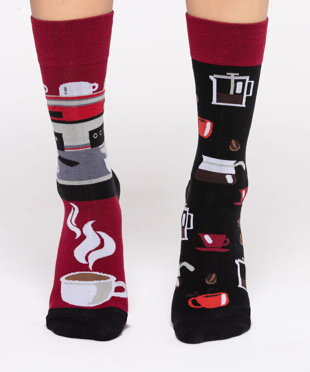 Coffee Lover Socks, Black
