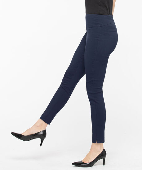 Microtwill High Rise Super Slim - Ankle, Summer Navy, hi-res