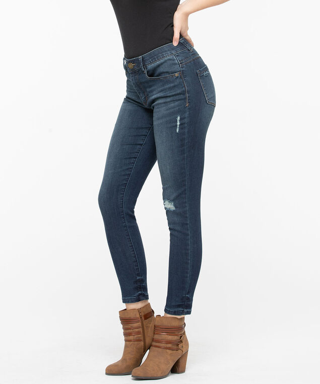 """Democracy """"Ab""""Solution High Rise Ankle Jean, Mid Wash, hi-res"""