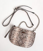 Python Crossbody & Belt Bag, Praline/Rhodium, hi-res