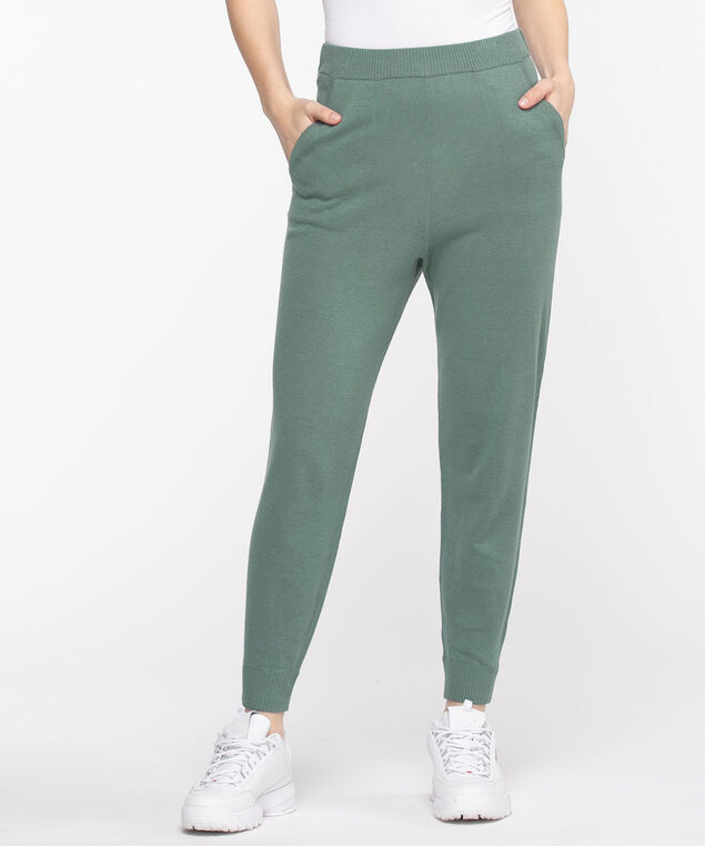 Sweater Knit Pull-On Jogger, North Atlantic