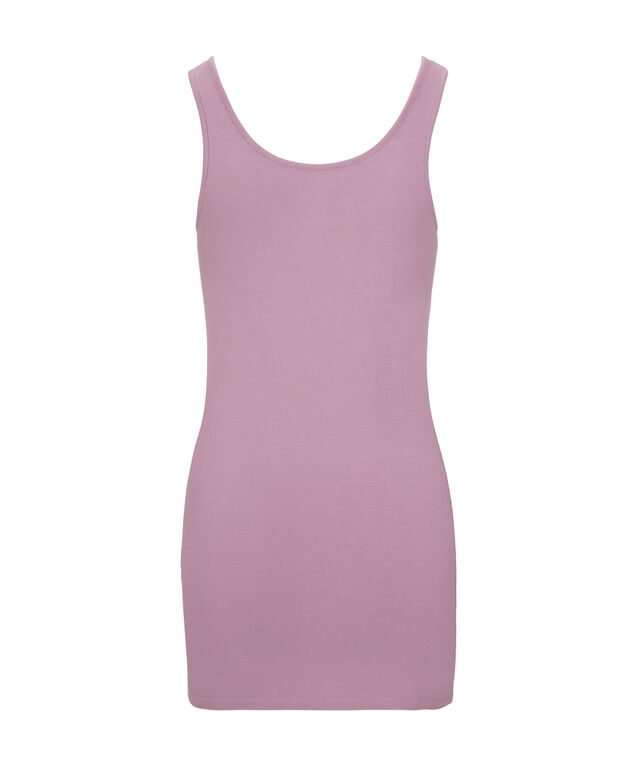 Tunic Length Cami, Mid Purple, hi-res