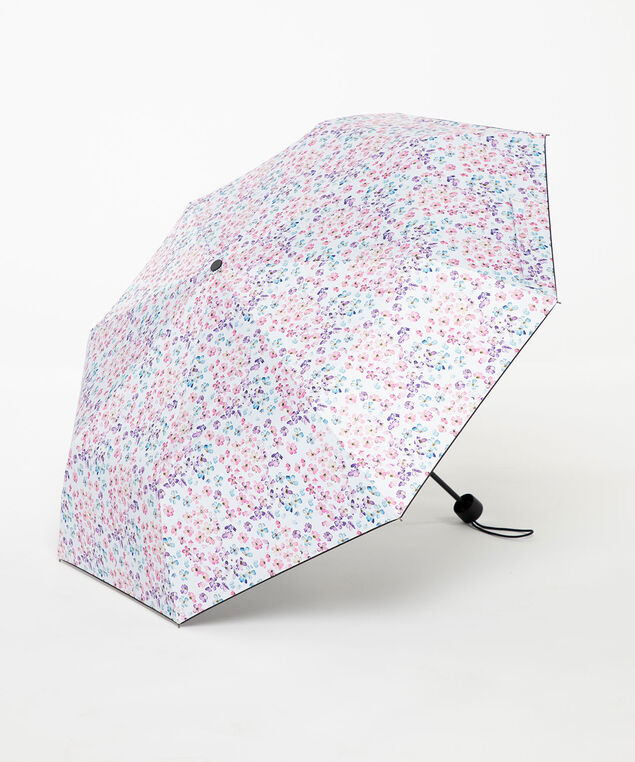 Watercolour Floral Umbrella, Orchid Petal Floral