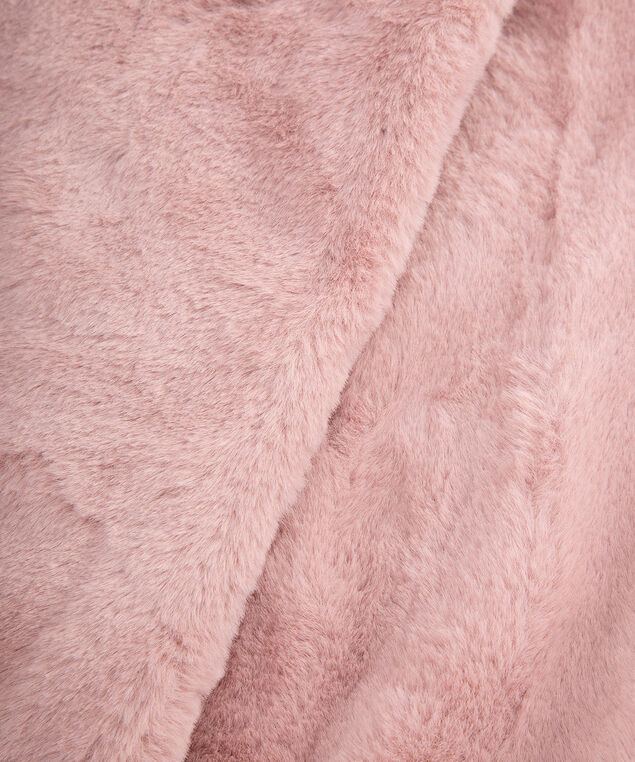 Faux Fur Eternity Snood, Dusty Blush, hi-res