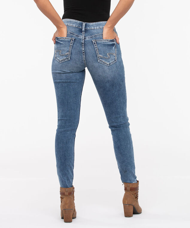 Silver Jeans Co. Suki Skinny Leg, Light Wash, hi-res