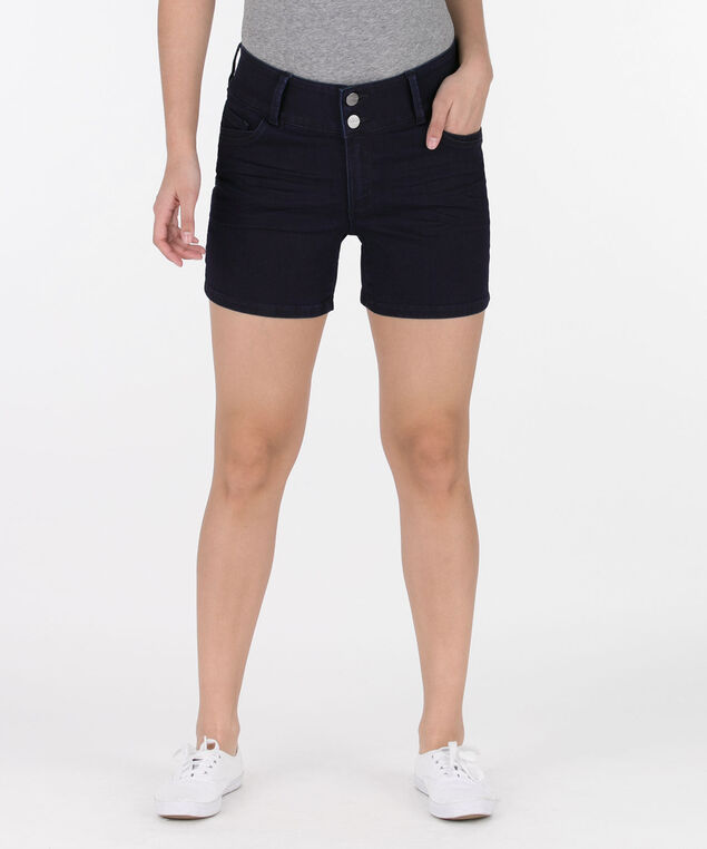 Dark Rinse Denim Short, Dark Rinse, hi-res