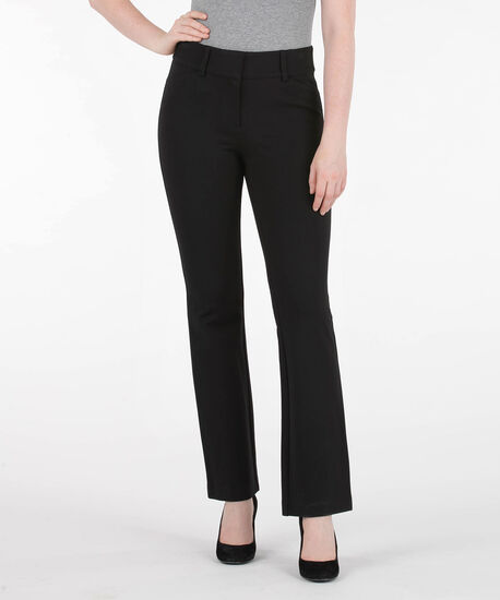 Luxe Ponte Bootcut Pant - Extra Long, Black, hi-res