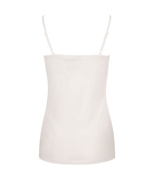 Strappy Scoop Neck Cami, Milkshake, hi-res