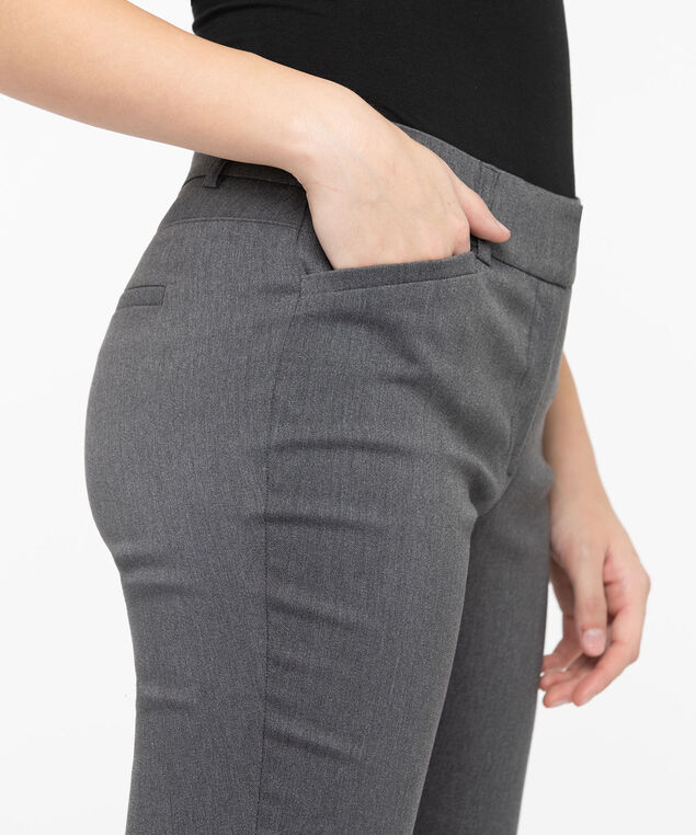 Microtwill Fly Front Super Slim Leg, Slate, hi-res