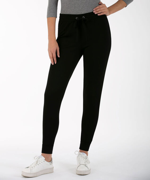 Knit Jogger Pant, Black, hi-res