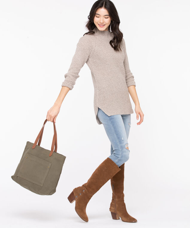 Canvas Tote Bag, Olive