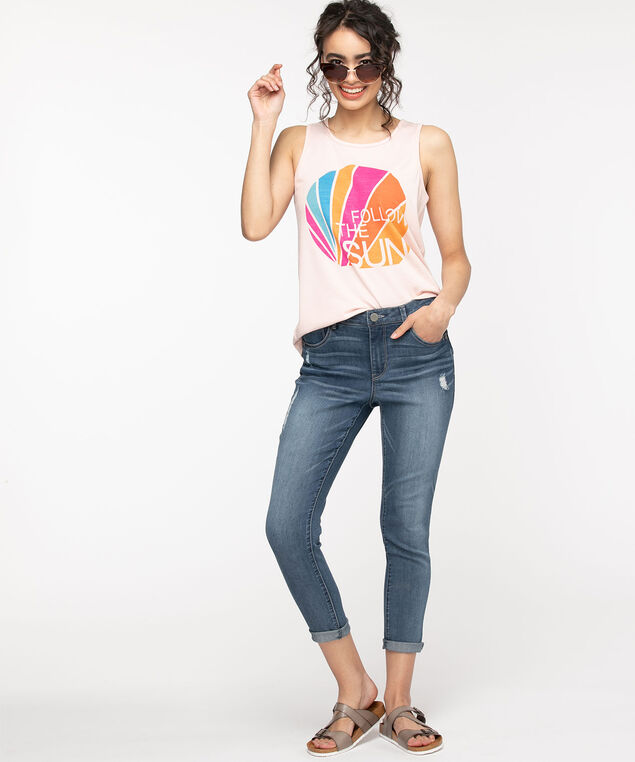 """Democracy """"Ab""""solution High Rise Jegging - Ankle, Mid Wash"""