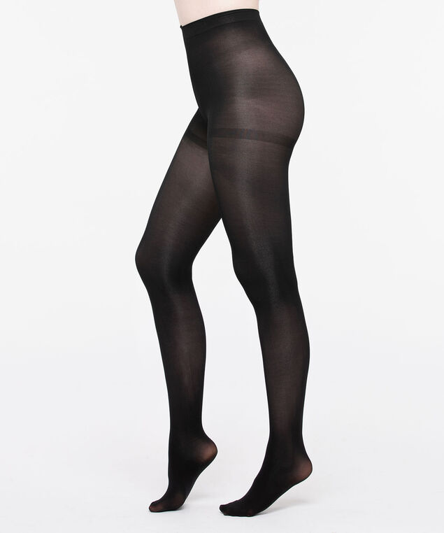 Microfiber Tights, Black, hi-res