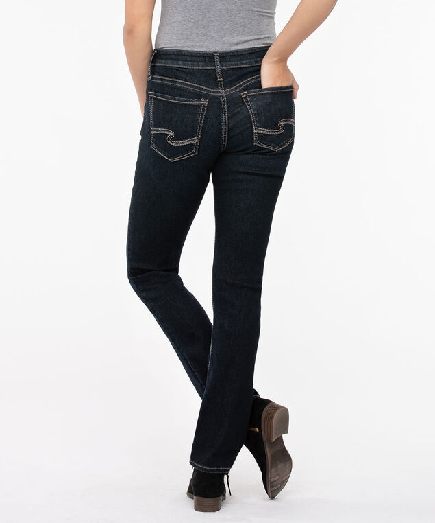 Silver Jeans Co. Avery High Rise Straight Leg, Indigo, hi-res