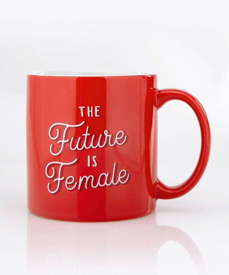 The Future Is Female Mug, Cherry/True White, hi-res