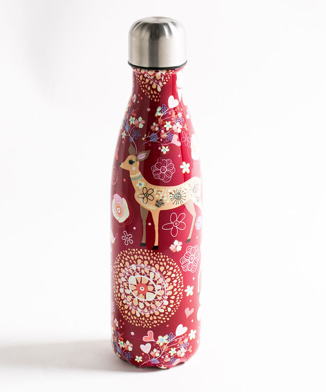 Whimsical Insulated Water Bottle, Chili Pepper