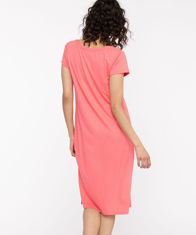 V-Neck Graphic Nightdress, Lantana ZZZs
