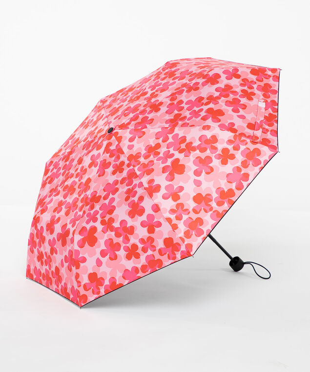 Rouge Red Floral Umbrella, Rouge Red/Pink Flower