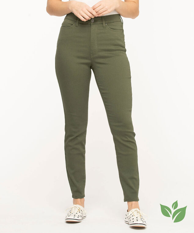 Eco-Friendly Skinny Leg Jean, Four Leaf Clover