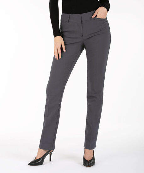 Double Weave Straight Leg - Long, Grey, hi-res