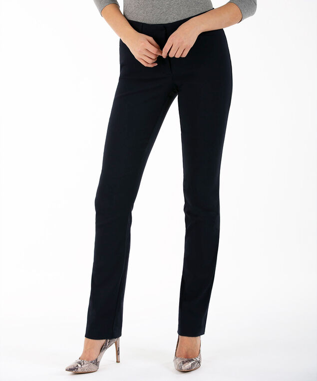 Microtwill Straight Leg, Navy, hi-res